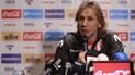 Perú vs Holanda: Ricardo Gareca dejó contundentes frases previo al amistoso