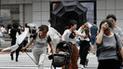 Tifón Jebi en Japón se cobra la vida de las primeras 8 personas [VIDEO]