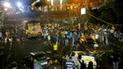 India: caída de puente en Calcuta deja un muerto y 25 heridos [VIDEO]