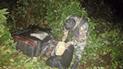 Incautan más de 160 kilos de marihuana durante patrullaje antidrogas