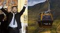 Candidato Franz Chevarría propone poner teleférico en Cusco