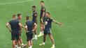 Neymar imitó la celebración de Cristiano Ronaldo en los entrenamientos de Brasil [VIDEO]