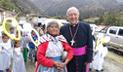 Cardenal Pedro Barreto cumple hoy 14 años como arzobispo de Huancayo