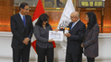 Colecta contra el Cáncer: Vizcarra y primera dama entregaron donativo