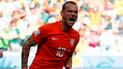 Wesley Sneijder habló de la emoción de retirarse de su selección contra Perú [VIDEO]