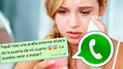 WhatsApp: le pidió ayuda a su padre y terminó siendo 'troleada' [FOTO]