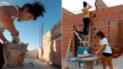 YouTube viral: hermanas albañiles hacen su propia casa y así les queda [VIDEO]