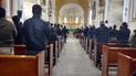 Vraem: Familiares de policías muertos en emboscada terrorista realizan misa de honras