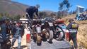 Cajamarca: motocicletas robadas fueron recuperadas por la Policía