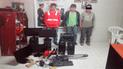 Cajamarca: capturan a ladrones que se llevaron equipos de empresa constructora