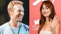 Dakota Johnson y Chris Martin confirman su romance con tatuajes similares