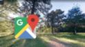 Google Maps: mira el escalofriante hallazgo en un bosque de Estados Unidos [FOTOS]