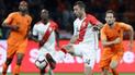 Perú vs Holanda: Horacio Calcaterra debutó con histórico dorsal en la 'bicolor' [VIDEO]
