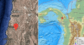 Sismos de 5,8 y 5,6 sacuden Chile y Panamá