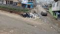#YoDenuncio: población indignada por basura acumulada desde hace una semana