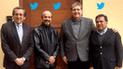Alan García comparte foto aprista y tuiteros dejan duros mensajes