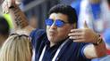 Diego Armando Maradona está que juega con dos equipos