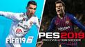 PES 2019 vs FIFA 19: Mira la comparación más valiosa entre ambos juegos [VIDEO]