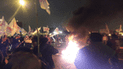 Callao: vandalismo de militantes de 'Vamos Perú' por tacha electoral [VIDEO]