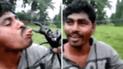 YouTube viral: Colocó la tenaza de un cangrejo en su lengua y ocurrió una desgracia