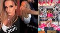 Alejandra Baigorria celebró sus 30 años y se llevó una mala sorpresa [VIDEO]