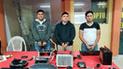Trujillo: Policía detiene a tres sujetos acusados de robar autopartes