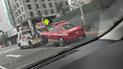 San Isidro: indignación por grúa que se lleva vehículo de bomberos