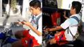 Vía Facebook: motociclista maneja usando su teléfono y sufre aparatoso accidente [VIDEO]