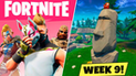 Fortnite: Cómo conseguir todos los retos de la semana 9 de la quinta temporada