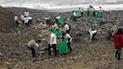 Magdalena: jóvenes limpian playas en protesta por uso de sorbetes
