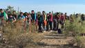 Casi 120 inmigrantes fueron abandonados dentro de un tráiler en México