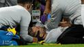 España vs Inglaterra: Luke Shaw terminó 'noqueado' tras golpe de Carvajal [VIDEO]