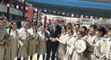 La vuelta al colegio del presidente Martín Vizcarra