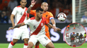 Perú vs. Holanda: Hincha de la selección peruana vio el partido en camilla [FOTO]