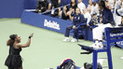 El polémico reclamo de Serena Williams que casi arruina la final del US Open 2018 [VIDEO]