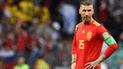 Sergio Ramos fue pifeado en Wembley en duelo España vs. Inglaterra [VIDEO]