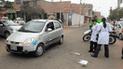 Chiclayo: taxista frustró asalto y fue baleado