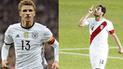 Thomas Müller recordó a Claudio Pizarro tras duelo con Perú