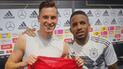 Perú vs Alemania: Julian Draxler y Jefferson Farfán intercambiaron camisetas tras el partido [FOTO]