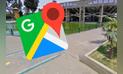 Google Maps: realiza paseo por un parque de Lima, pero encuentra un aterrador dinosaurio [FOTOS]