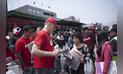 Jorge Muñoz  recorre los mercados de Comas [FOTOS]