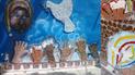 Destruyen mural en pleno centro de Chiclayo