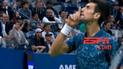 Djokovic perdió los papeles e insultó a la grada de Del Potro en la final del US Open [VIDEO]