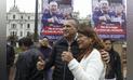 Daniel Urresti inicia recolección de firmas para lograr el cierre del congreso [FOTOS]