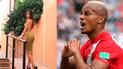 André Carrillo: Novia le dejó romántico mensaje tras estar ausente en el Perú vs. Alemania