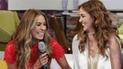 """Galilea Montijo y Andrea Legarreta son criticadas por riña de """"orgasmos"""""""