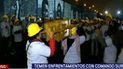 El gesto provocador de la iglesia evangélica tras tomar explanada de estadio de Alianza Lima [VIDEO]