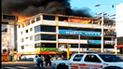 Chimbote: incendio consumió ambientes de academia preuniversitaria [VIDEO]