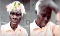 Vía Facebook: anciano causa ternura en redes al intentar quitarse un filtro de imagen [VIDEO]