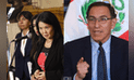 Keiko Fujimori descarta vacancia a Vizcarra, pero su bancada insiste en citarlo por Chinchero